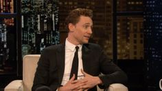 Tom Hiddleston on Chelsea Lately! Mr. Charming!