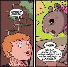 2. She's really smart, despite the fact that she's NOT majoring in squirrels. (Also, she talks to squirrels.) | The Unbeatable Squirrel Girl Is Your Favorite New Superhero