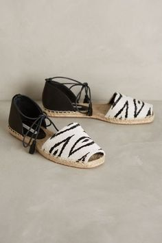 Cynthia Vincent Farie Espadrilles - anthropologie.com #anthroregistry