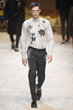 Male Fashion Trends: Dolce & Gabbana Fall/Winter 2016/17 - Milán Fashion Week