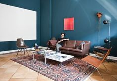Fashion Designer Steven Tran from Berlin and his apartment.