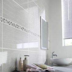 Faïence mur gris, Verone l.25 x L.50 cm
