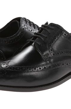 Nunn Bush Nelson Wingtip Oxford (Black) Men's Dress Flat Shoes - Nunn Bush, Nelson Wingtip Oxford, 84525-001, Footwear Closed Dress Flat, Dress Flat, Closed Footwear, Footwear, Shoes, Gift - Outfit Ideas And Street Style 2017