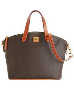 Dooney & Bourke Handbag, Eva Collection Satchel - Dooney & Bourke - Handbags & Accessories - Macy's