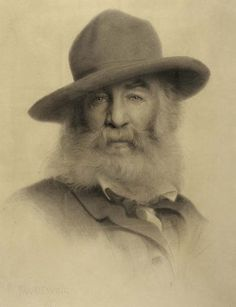 Whitman Sings the Song of the Redwood Tree  Photo of Walt Whitman in 1875 by Thomas Dewing [Public Domain]