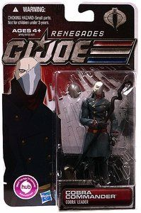 G.I. Joe 30th Anniversary 3 3/4 Inch Action Figure Cobra Commander Renegades - http://toy-toys.com/toys-games/gi-joe-30th-anniversary-3-34-inch-action-figure-cobra-commander-renegades-ca/