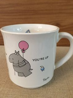 Sandra Boynton Mug When You're Up You're Up by PineStreetPickers #EtsyGifts