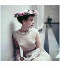 Fashions For Spring Washington, D.C.1952 Photo Nina Leen b