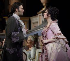 Jonas Kauffman and Angela Gheorghiu in Adrianna Lecouveur.