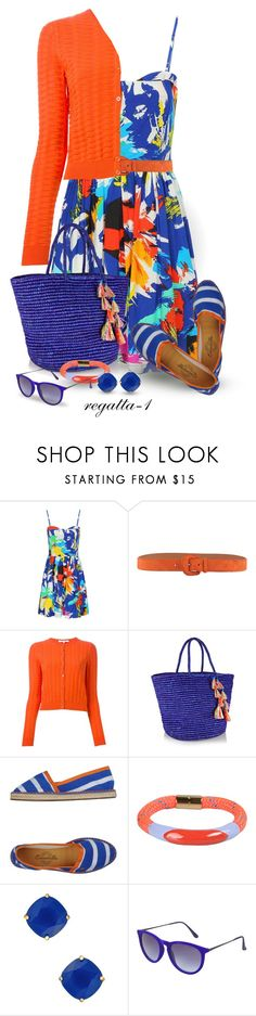 """""""Floral Dress"""" by regatta-1 ❤ liked on Polyvore featuring Ralph Lauren Black Label, Carven, Sensi Studio, Escadrille, Marc by Marc Jacobs, Kate Spade, Topshop, floral and polyvoreeditorial"""