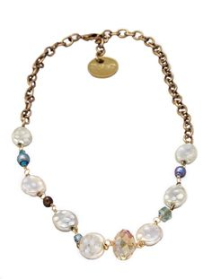 Trendy Jewelry | Twisted Silver | Celebrity Jewelry | Funky Jewelry - Elegance necklace