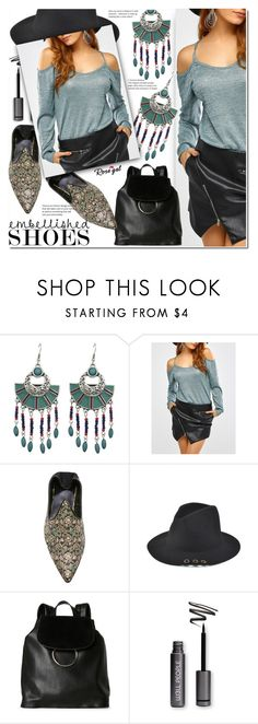 """""""Magic Slippers: Embellished Shoes"""" by j-sharon ❤ liked on Polyvore featuring French Connection and embellishedshoes"""