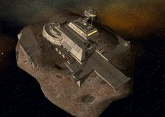 The Alternative Wargamer: Hutt asteroid base part 1