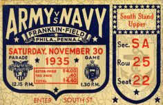Army Navy Game 1935