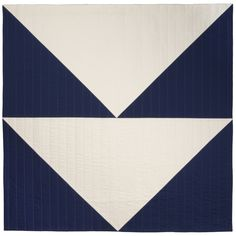"""flag quilt 2, flying geese variation, 55""""x55"""" 2014"""