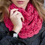 25 crochet scarves.
