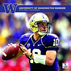 Washington Huskies Wall Calendar: The 2013 Washington Huskies wall calendar is the perfect tribute to your favorite college team. Each monthly page displays a high-quality, fan-pleasing image that will have everyone in your home or work area hailing the Huskies all year long!  $15.99  http://www.calendars.com/Washington-Huskies/Washington-Huskies-2013-Wall-Calendar/prod201300001150/?categoryId=cat00671=cat00671#