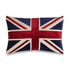 image of Union Jack 20-Inch Decorative Throw Pillow