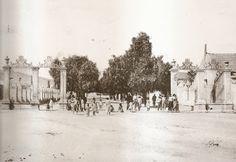 Antigua entrada al Paseo de Campoamor desde la carretera de San Vicente. Finales del siglo X