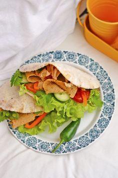Broilerikebab ja Gluteenittomat Pitaleivät Tacos, Mexican, Ethnic Recipes, Food, Eten, Meals, Diet