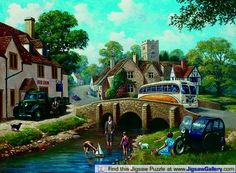 Down By the River Kevin Walsh Nostalgie 3D Puzzle lenticulaire 500 PIECES