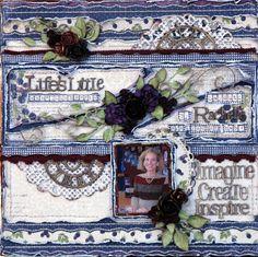 Life's little Embellishments: Lifes Little Embellishments ***Maja Design***Scrap...