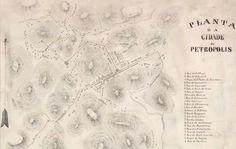 Realitas: Carta Chorographica do Rio de Janeiro - FBN - 1861...