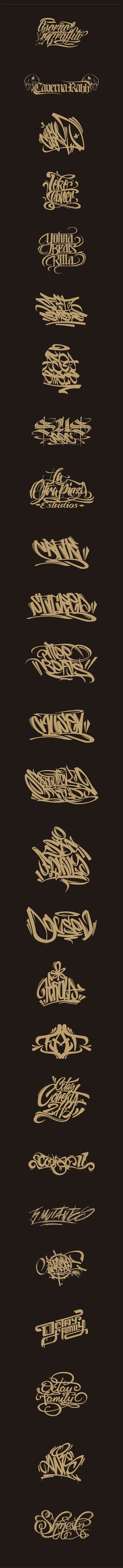 Lettering, Logos, Graffiti on Behance