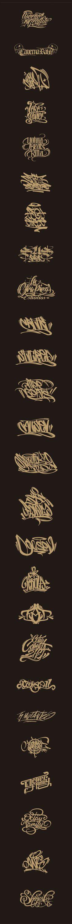 Lettering, Logos, Graffiti on Behance