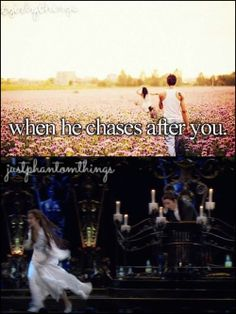 haha - Phantom ~Lol but the Phantom doesn't even have to chase after her, she just stops. Boss~ Alora