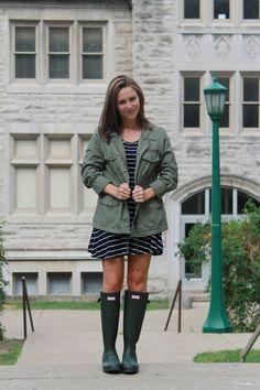 CollegeFashionista X Hunter Boot: Indiana University #HunterUniversityStyle