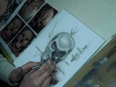 How to Airbrush a Skull plus Art Tips