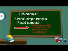 Le passé-simple / el pretérito indefinido (emploi) - YouTube