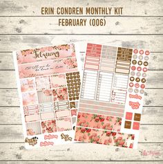 Free February Monthly Kit