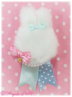 Angelic Pretty Marshmallow Bunny Brooch