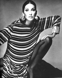 Vogue Editorial December 1972 - Cher by Richard Avedon