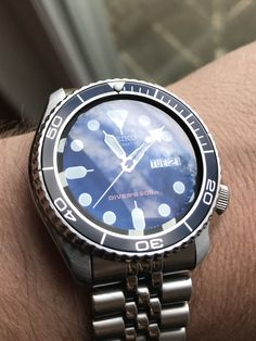 [Seiko] Just installed a new crystal and bezel insert and I can't stop staring at it. http://ift.tt/2A2Ck5J