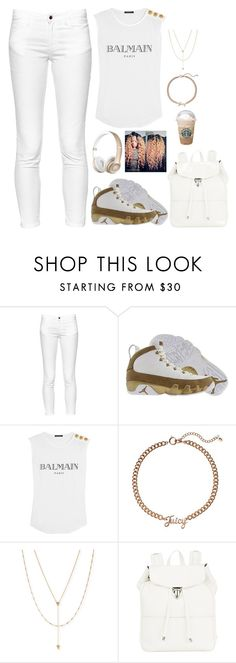 """Untitled #263"" by nun-for-free ❤ liked on Polyvore featuring French Connection, Retrò, Balmain, Juicy Couture, Jennifer Zeuner and Illesteva"