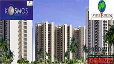 Resale Properties in Noida: Resale Jaypee Green KOSMOS in Noida  Resident to these 2/3 bhk flats in Noida will have access to Educational and Medical facilities and will enjoy amenities within Multiple Clubhouses like Swimming pools, Gymnasiums, Children Play areas, Tennis & Badminton Courts and much more.  Location: SECTOR 134, Noida Size: 1150 SqFt Plan: 3 BHK