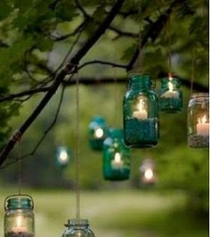 Creative ideas on how to use jars for your wedding from Arabia Weddings
