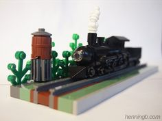 Micro scale train: A LEGO® creation by Henning Birkeland : MOCpages.com