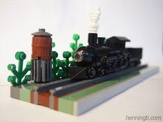 Micro scale train: A LEGO® creation by Henning Birkeland
