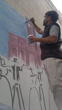 mural realizado en el pasaje La Misericordia y Fonrouge Painting, Art, Hipster Stuff, Art Background, Painting Art, Kunst, Paintings, Performing Arts, Painted Canvas