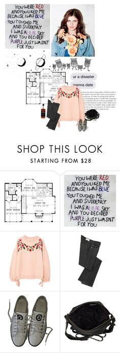 """""""some trust fund baby's Brooklyn loft."""" by d-iaphanous ❤ liked on Polyvore featuring MANGO, Vanessa Bruno, Chanel and River Island"""