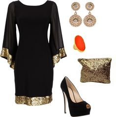 """""""Black Tie Event"""" by ewenhart on Polyvore"""