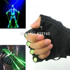 Red Green Laser Gloves Dancing Stage Show Light With 4 pcs lasers and LED palm light for DJ Club/Party/Bars Dance Stage, Stage Show, Green Led, Red Green, Led Gloves, Novelty Lighting, Show Lights, Club Parties, Bar Lighting