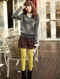 Mango Doll - Fake Layered Thin Sweater, $37.00 (http://www.mangodoll.com/all-items/fake-layered-thin-sweater/)