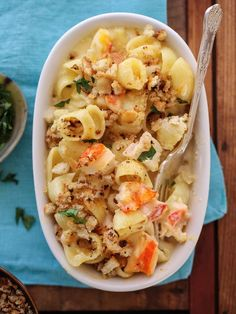 Lobster Mac and Cheese is the ultimate high brow meets low brow comfort food #recipe