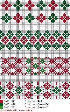 Barrados - Rosa Plaza - Picasa Web Albums - border cross stitch