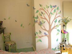 Tree Silhouette Mural